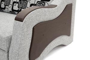 Прямой диван Вико-2 Big Grey + TV Подлокотник