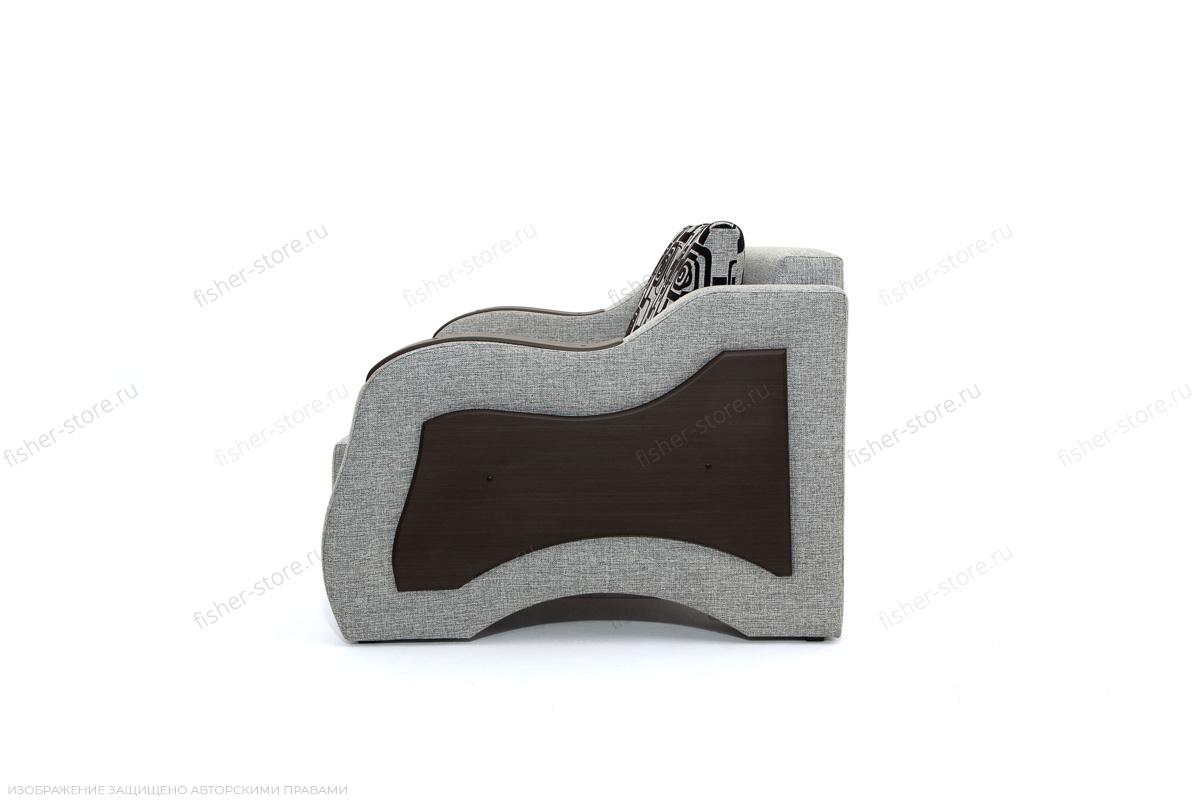 Прямой диван Вико-2 Big Grey + TV Вид сбоку