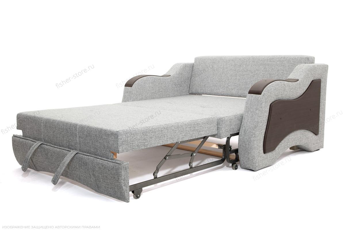 Прямой диван Вико-2 Big Grey + TV Спальное место
