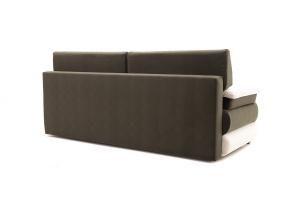 Прямой диван Фиджи Maserati Beige-grey + White Вид сзади