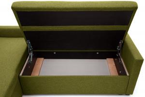 Угловой диван Парус Савана Green Ящик для белья