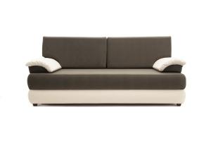 Прямой диван Фиджи Maserati Beige-grey + White Вид спереди