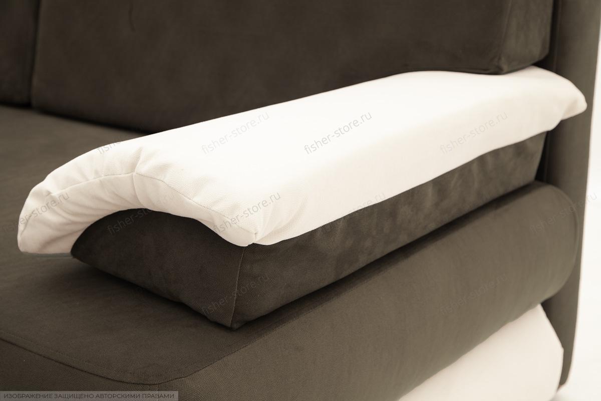 Диван Фиджи Maserati Beige-grey + White Текстура ткани