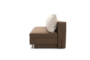 Прямой диван Реал Dream Brown + Dream Beight Вид сбоку