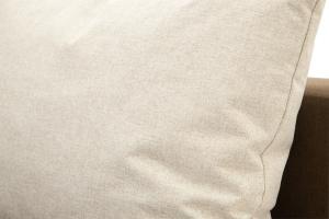 Прямой диван Реал Dream Brown + Dream Beight Текстура ткани