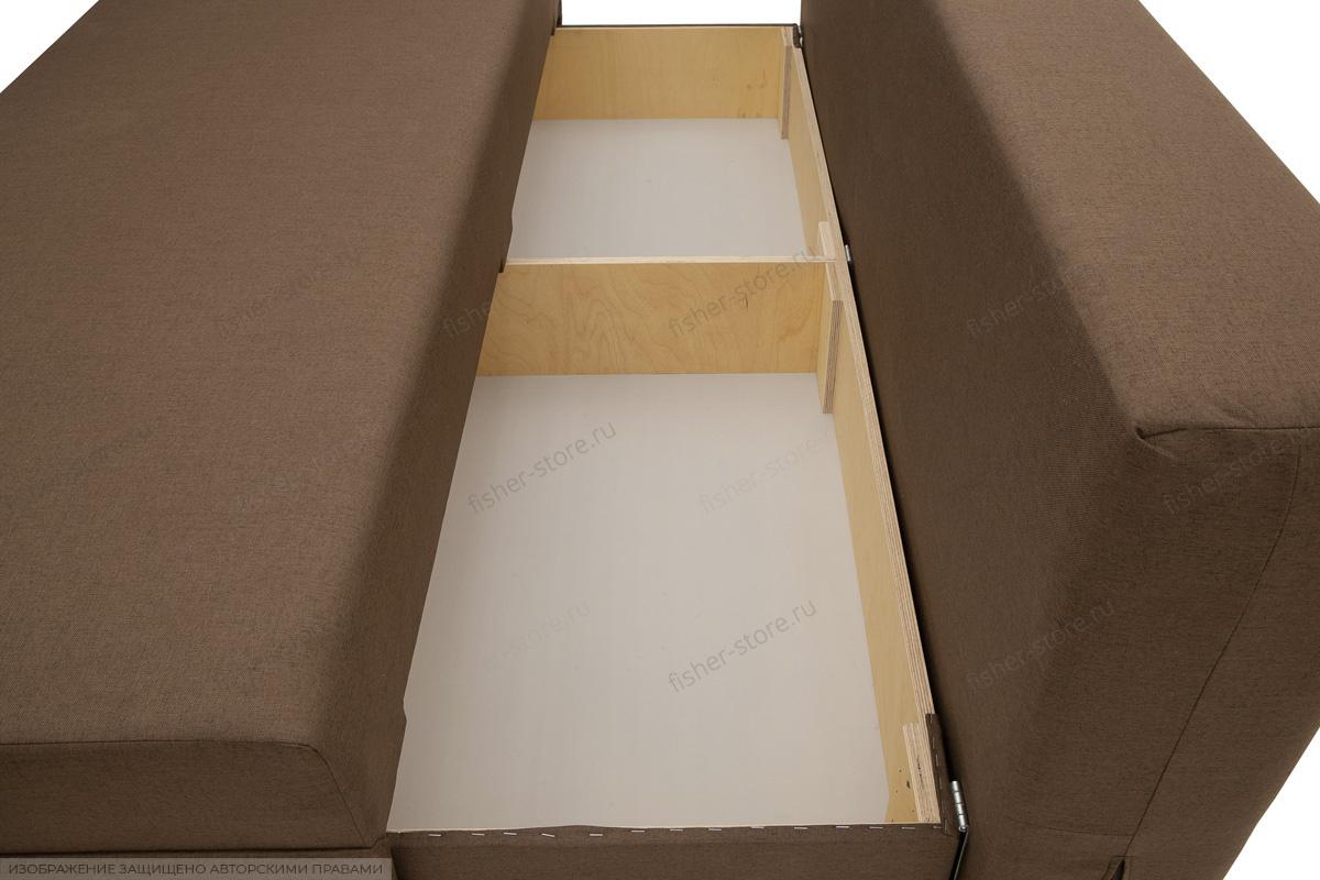 Прямой диван Реал Dream Brown + Dream Beight Ящик для белья