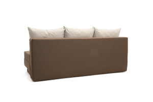 Прямой диван Реал Dream Brown + Dream Beight Вид сзади