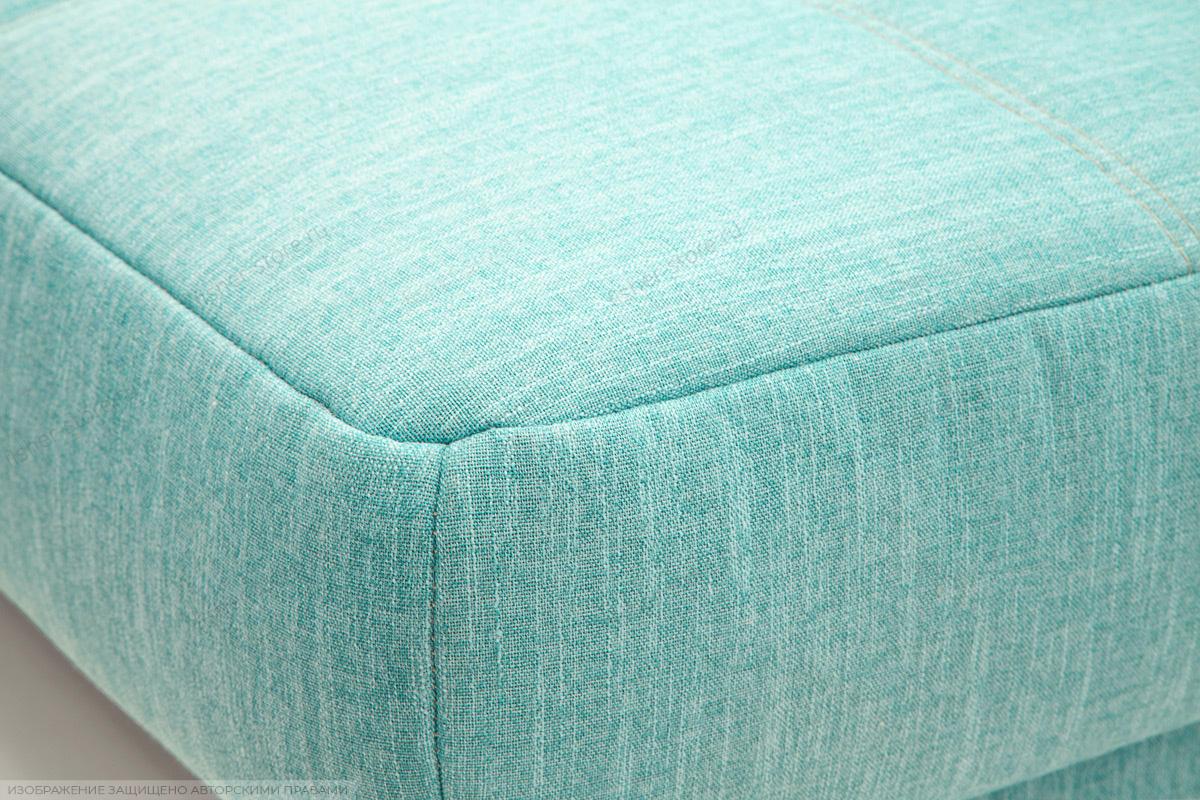Прямой диван Марсель-3 Orion Blue + Orion Mustard Текстура ткани