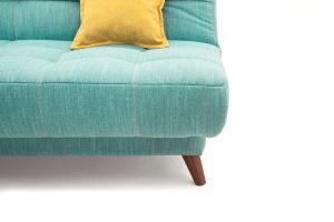 Прямой диван Марсель-3 Orion Blue + Orion Mustard Ножки