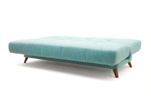 Прямой диван Марсель-3 Orion Blue + Orion Mustard Спальное место
