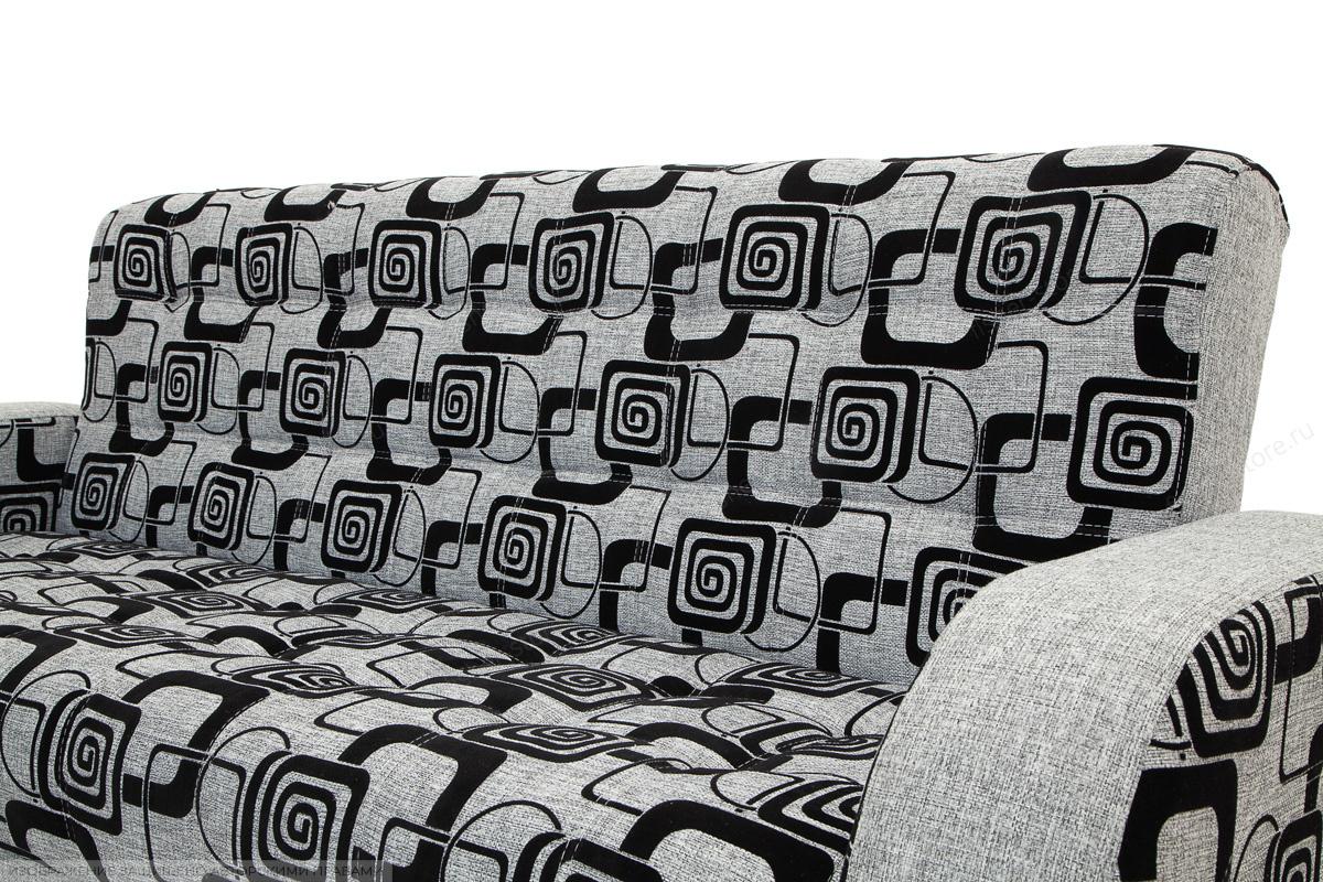 Двуспальный диван Вито TV Grey + Big Grey Текстура ткани