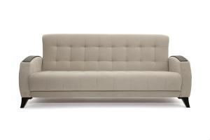 Прямой диван Вито-5 с опорой №7 Amigo Cream Вид спереди