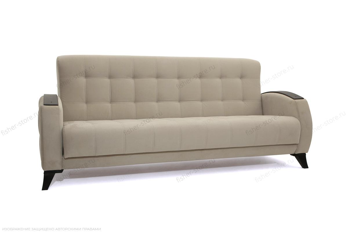 Прямой диван Вито-5 с опорой №7 Amigo Cream Вид по диагонали