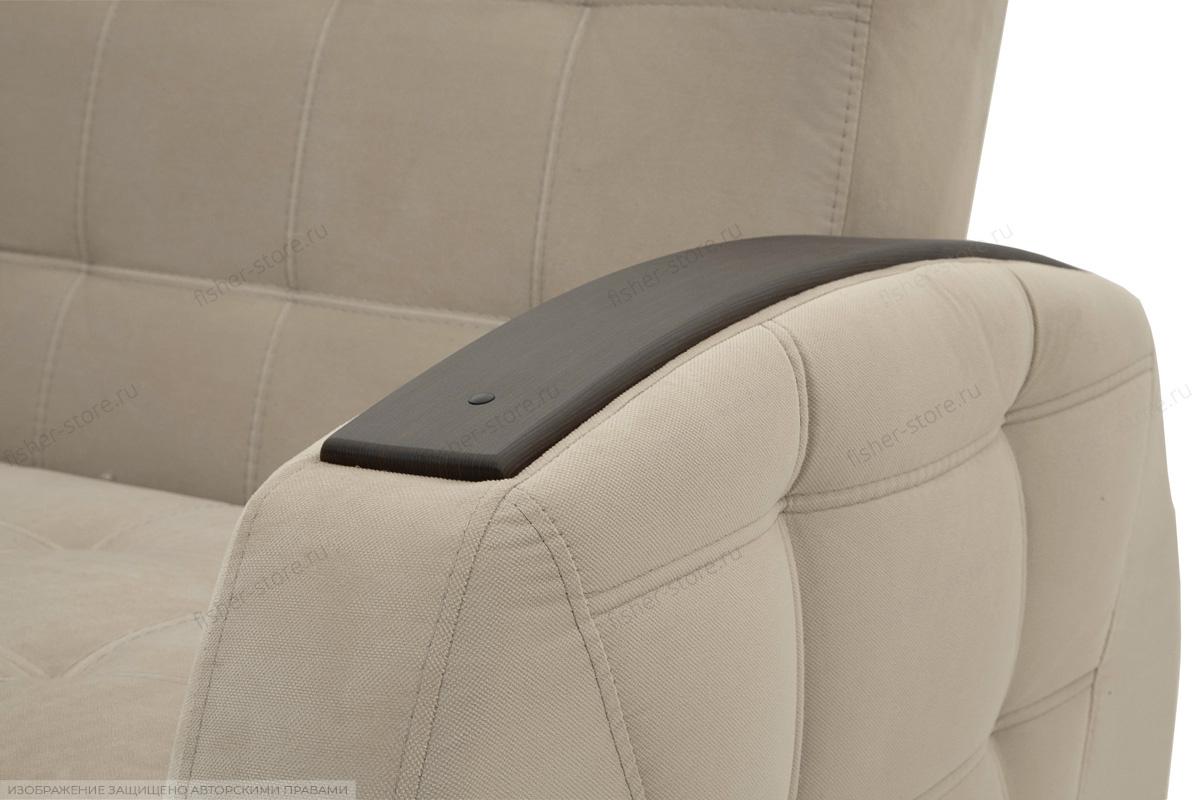 Прямой диван Вито-5 с опорой №7 Amigo Cream Подлокотник