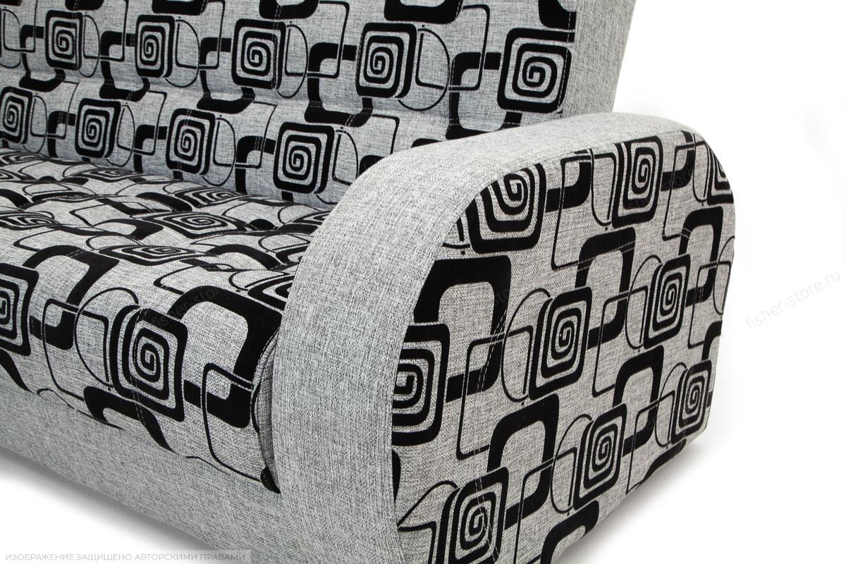 Двуспальный диван Вито TV Grey + Big Grey Подлокотник