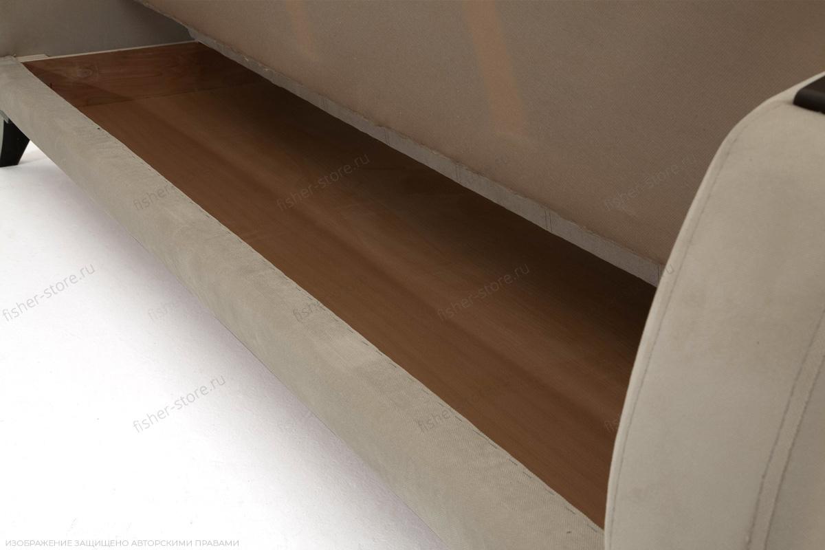 Прямой диван Вито-5 с опорой №7 Amigo Cream Ящик для белья