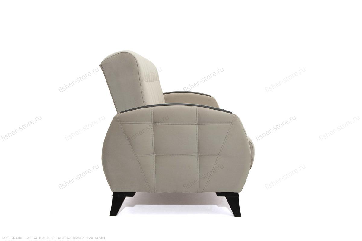 Прямой диван Вито-5 с опорой №7 Amigo Cream Вид сбоку