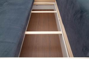 Двуспальный диван Мадрид Amigo Navy Ящик для белья