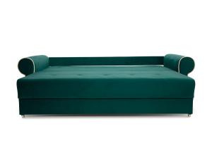 Прямой диван Милфорд Velutto Emerald + Velutto White Спальное место