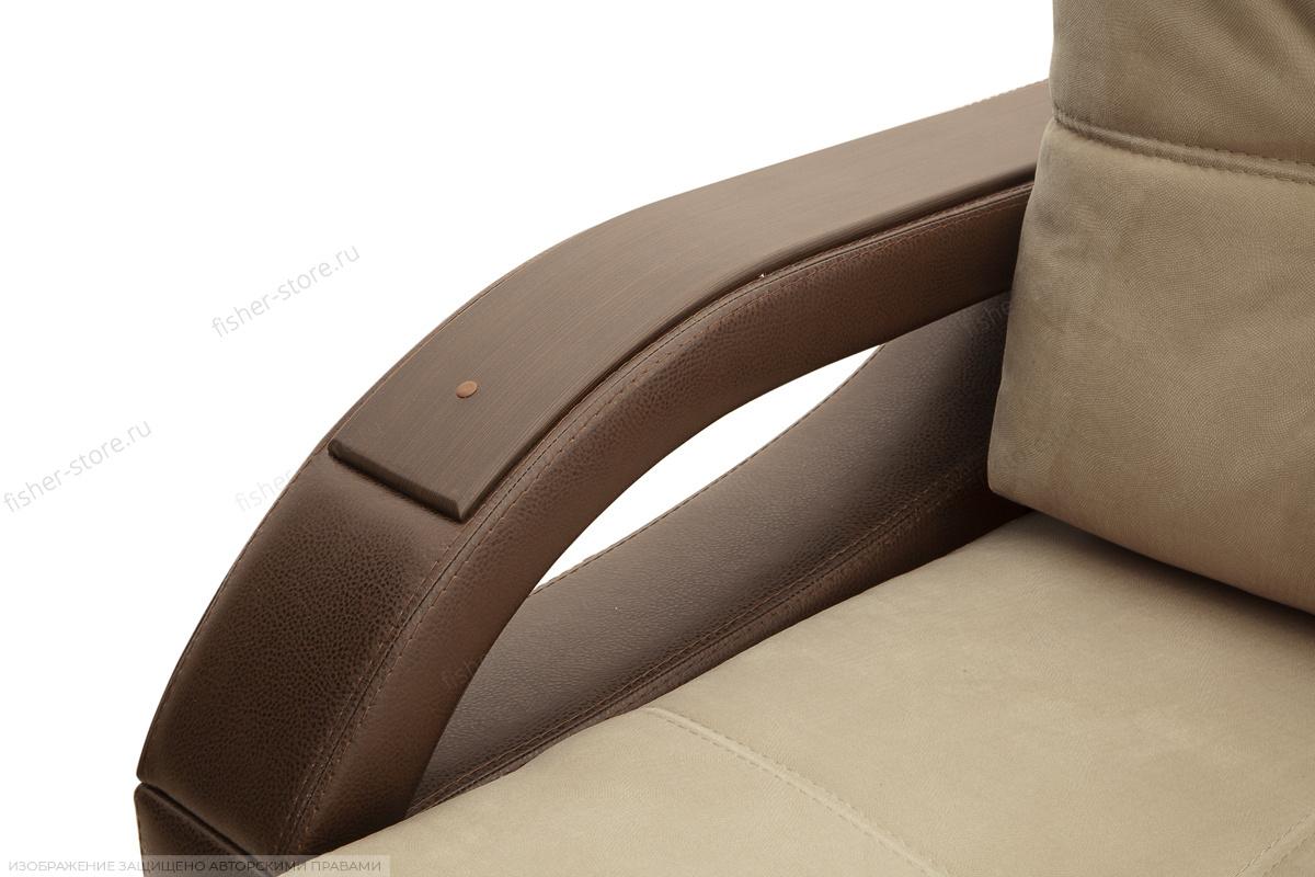 Прямой диван Мартин Maserati Beight + Sontex Umber Подлокотник