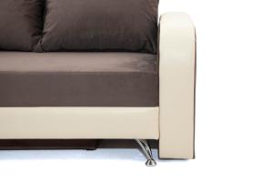 Двуспальный диван Прага-3 Amigo Chocolate + Sontex Beige Ножки