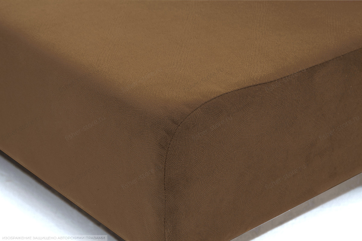 Прямой диван Рио Maserati Brown Текстура ткани