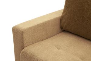 Прямой диван еврокнижка Селена-2 Golden Flece latte + Golden Fleece lungo Подлокотник