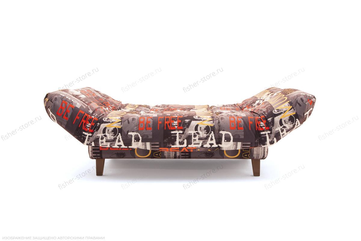 Прямой диван Самурай с опорой №3 Music Grafit Механизм