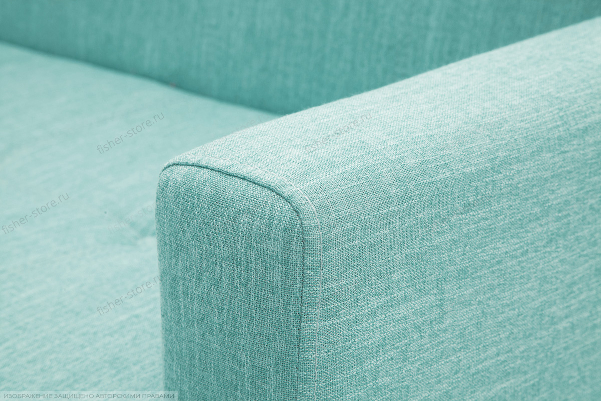 Прямой диван Роял Orion Blue Текстура ткани