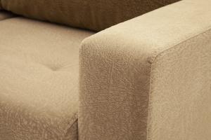 Прямой диван еврокнижка Селена-2 Golden Flece latte + Golden Fleece lungo Текстура ткани