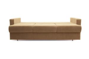 Прямой диван еврокнижка Селена-2 Golden Flece latte + Golden Fleece lungo Спальное место