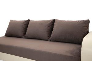 Двуспальный диван Прага-3 Amigo Chocolate + Sontex Beige Подушки