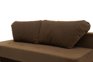 Прямой диван Рио Maserati Brown Подушки