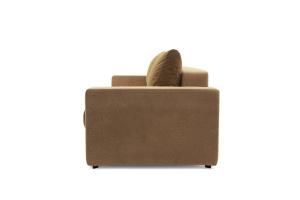 Прямой диван еврокнижка Селена-2 Golden Flece latte + Golden Fleece lungo Вид сбоку