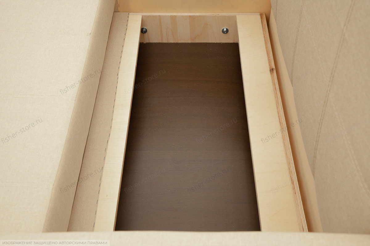 Прямой диван Малютка Savana Camel Ящик для белья