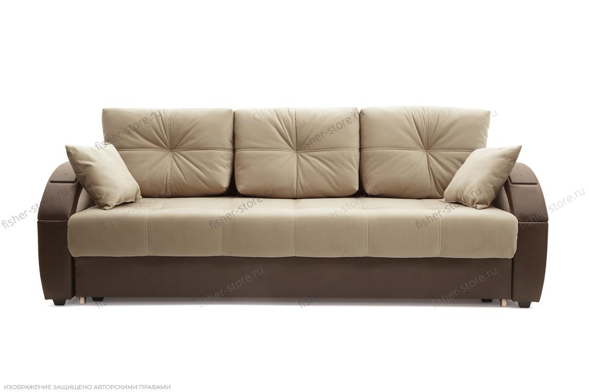 Двуспальный диван Мартин Maserati Beight + Sontex Umber Вид спереди