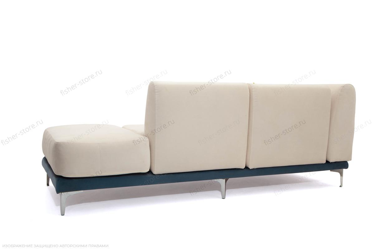 Двуспальный диван Релакс Amigo Bone + Maserati Blue + Maserati Yellow Вид сзади