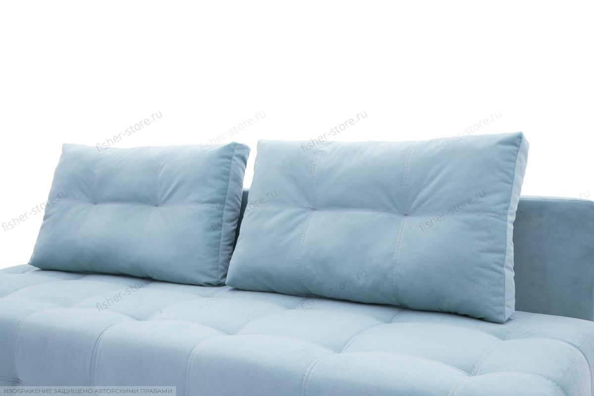 Прямой диван Фокс Amigo Blue Подушки