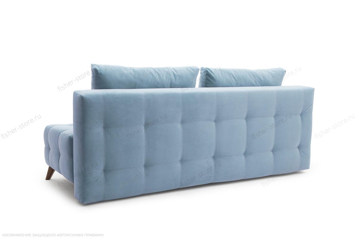Прямой диван Фокс Amigo Blue Вид сзади
