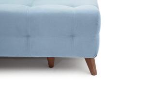 Прямой диван Фокс Amigo Blue Ножки