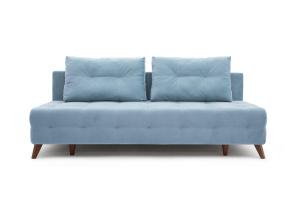 Прямой диван Фокс Amigo Blue Вид спереди