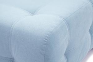 Прямой диван Фокс Amigo Blue Текстура ткани