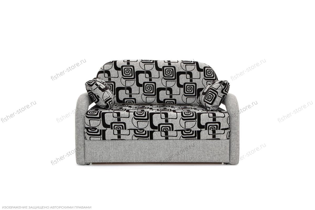 Прямой диван Чунга TV Grey + Big Grey Вид спереди