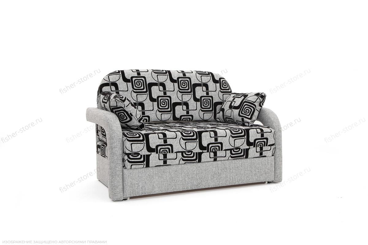 Прямой диван Чунга TV Grey + Big Grey Вид по диагонали