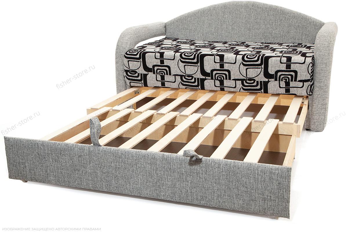 Прямой диван Чунга TV Grey + Big Grey Механизм
