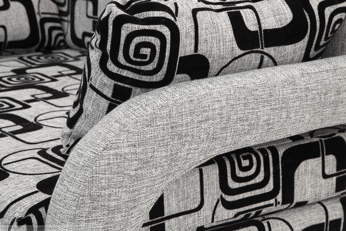 Прямой диван Чунга TV Grey + Big Grey Текстура ткани