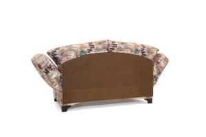 Прямой диван Элис с опорой №1 Army Beight Вид сзади