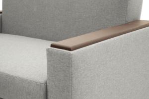 Прямой диван Этро-2 с опорой №1 Dream light grey Подлокотник