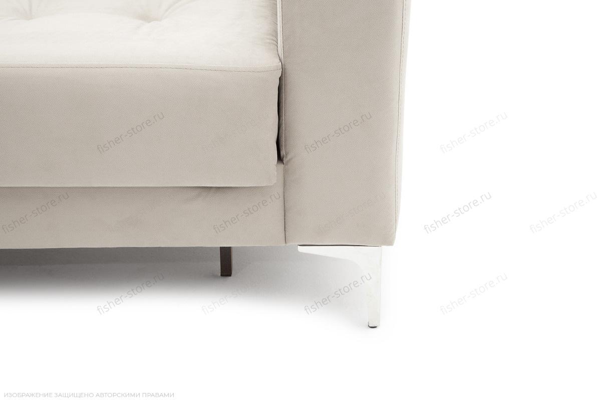 Угловой диван Джерси-6 с опорой №9 Maserati White Ножки