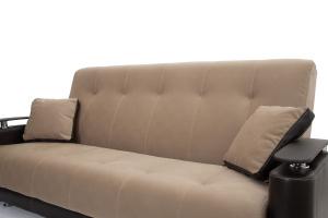 Прямой диван Шансон Amigo Latte + Sontex Umber Подушки